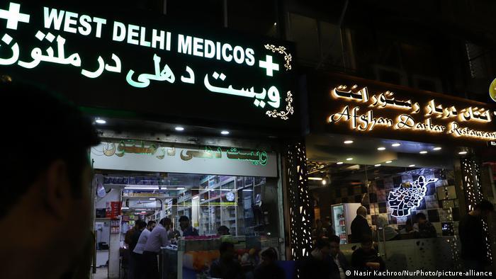 New Delhi's Lajpat Nagar neighborhood is home to many Afghans