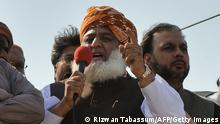 Maulana Fazlur Rehman  Mitglied der pakistanischen Nationalversammlung