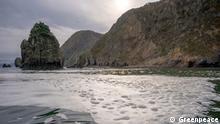 Kamtschatka | Verschmutzung am Khalaktyr Strand