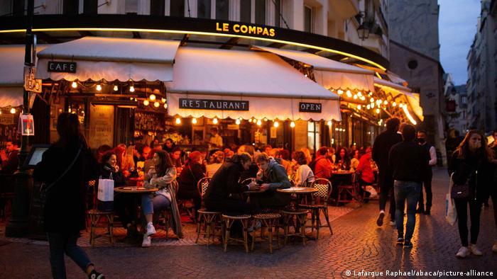 Frankreich   Coronavirus   Nachtleben in Paris