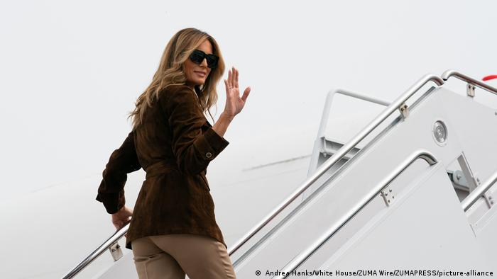 USA I First Lady Melania Trump Visits New Hampshire ( Andrea Hanks/White House/ZUMA Wire/ZUMAPRESS/picture-alliance)