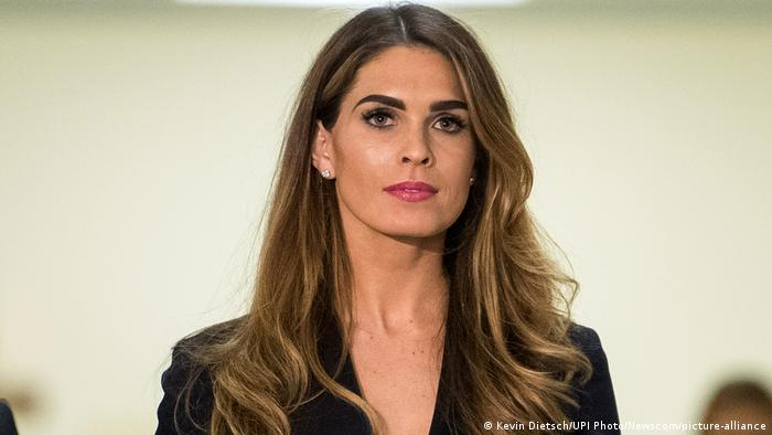 USA I Hope Hicks I Coronavirus (Kevin Dietsch/UPI Photo/Newscom/picture-alliance)