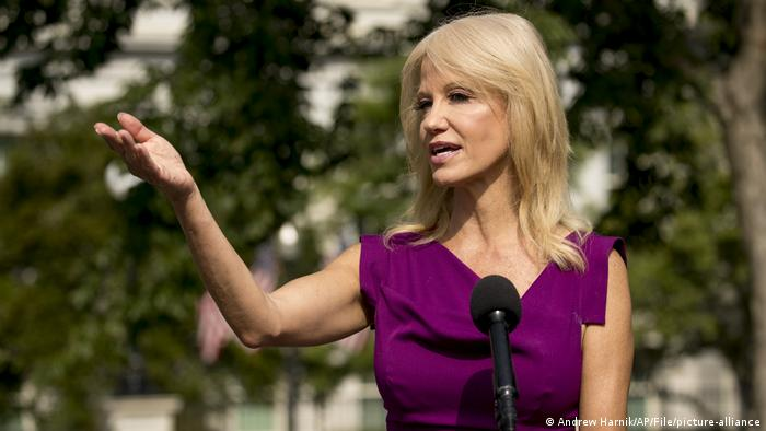 Adviser Kellyanne Conway at the White House