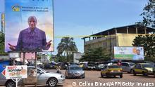 Guinea Wahlkampf in Conakry