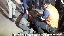 Kirgsitan Porteste gegen die Parlamenstwahlen