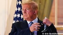 USA Trump verlässt Krankenhaus