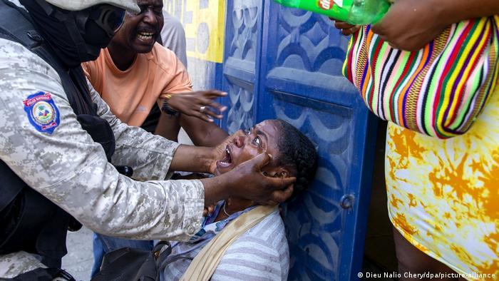 Haiti Proteste (Dieu Nalio Chery/dpa/picture-alliance)