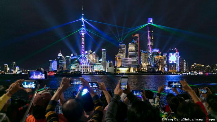 BdTD China Lasershow in Shanghai