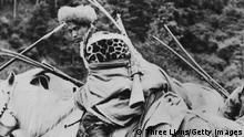 BG | 70 Jahre Besetzung Tibet: tibetanischer Soldat