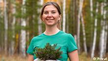 Russische Umweltaktivistin Marianna Muntianu