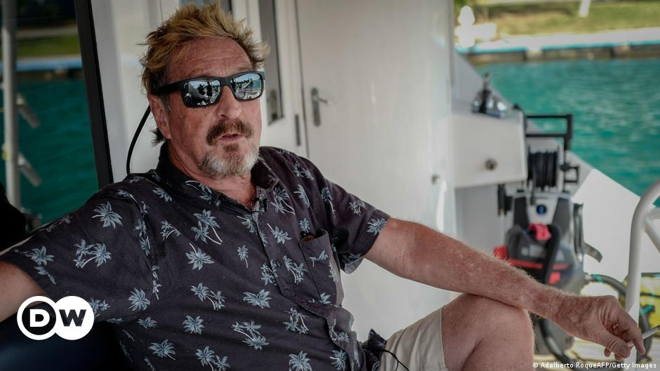 John McAfee found dead in prison after Spanish court permits extradition
