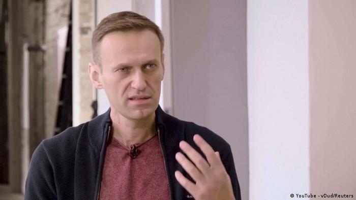 Alexej Nawalny (YouTube - vDud/Reuters)