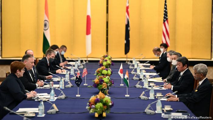 Japan Quad Indo-Pazifik Außenministertreffen in Tokio