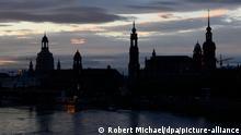 Deutschland Dresden am Morgen