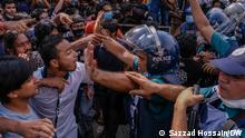 Bangladesch Proteste gegen Vergewaltigung und sexuelle Belästigung von Frauen
