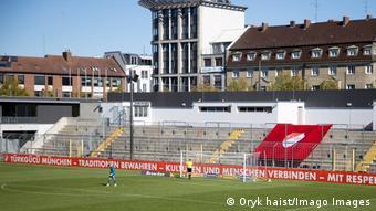 Türkgücü Münih, maçlarını 1860 Münih'in sahası olan Grünwalder Stadyumu'nda oynuyor.