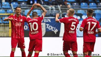 Fussball, 3. Liga, SV Waldhof Mannheim vs. Tuerkguecu Muenchen