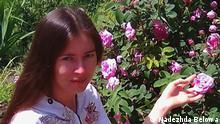 Russland Die wegen öffentlicher Rechtfertigung und Propaganda des Terrorismus Angeklagte Nadezhda Belowa