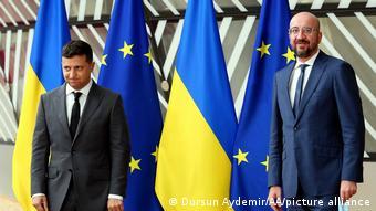 Про судову реформу Володимиру Зеленському говорили на саміті Україна-ЄС у Брюсселі