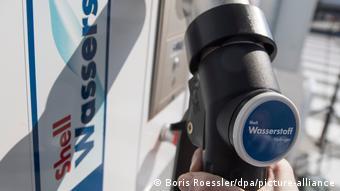 Водородная заправка Shell во Франкфурте-на-Майне