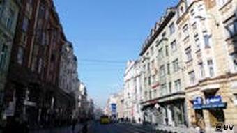 Marshal Tito Street in Sarajevo