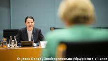 Berlin Merkel trifft Tichanowskaja