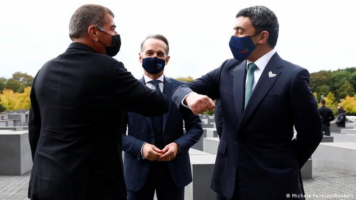 Deutschland I Maas empfängt Außenminister Israels und der Emirate