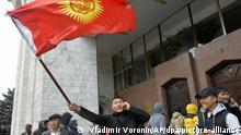 Kirgistan Ausschreitungen nach Parlamentswahl in Kirgistan