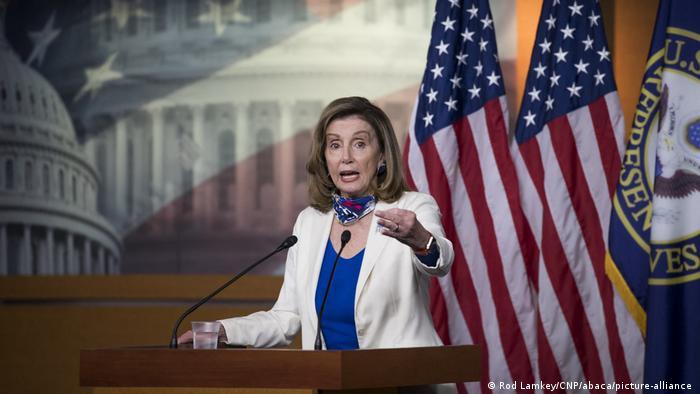 USA PK Nancy Pelosi (Rod Lamkey/CNP/abaca/picture-alliance )