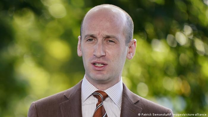 USA Trumps Berater Stephen Miller (Patrick Semansky/AP Images/picture-alliance)