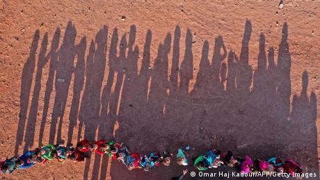 BdTD Syrien Schulbeginn im Flüchtlingslager (Omar Haj Kadour/AFP/Getty Images)