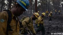 Klimawandel l USA - Waldbrände nahe Paisley in Oregon