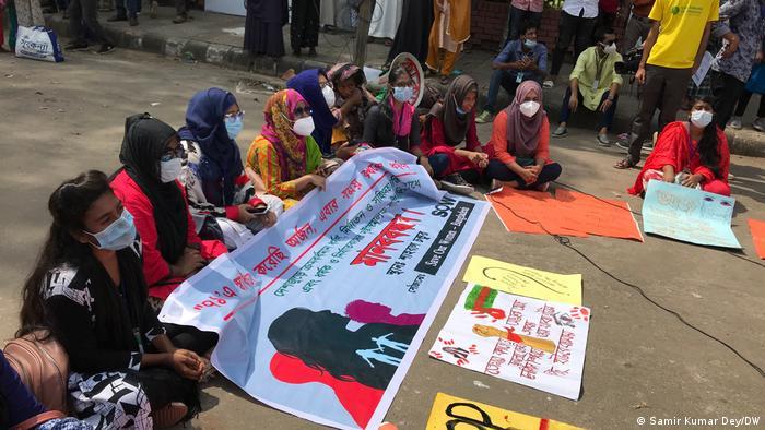 Bangladesch l Anhaltende Proteste gegen sexuelle Gewalt und Folter an Frauen