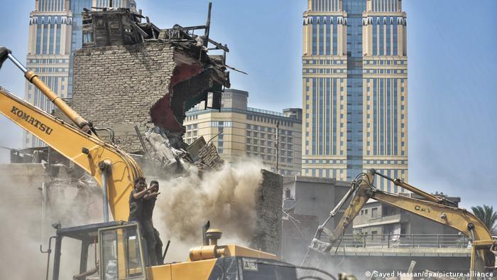 Ägypten l Abriss der Elendsviertel in Kairo