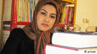 Afghan writer and journalist Zahra Zahedi, who lives in Iran (Photo: Zahra Zahedi) Geliefert von: Nadia Fasel