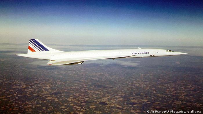 Air France Concorde (Air France/AP Photo/picture-alliance)