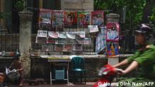 Vietnam l Zeitungsstand in Hanoi