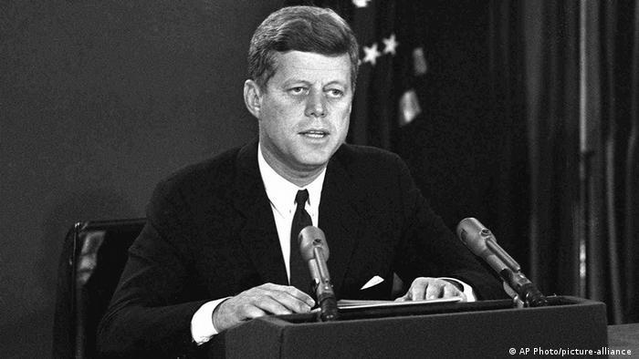 John F. Kennedy, Ancien président des Etats-Unis