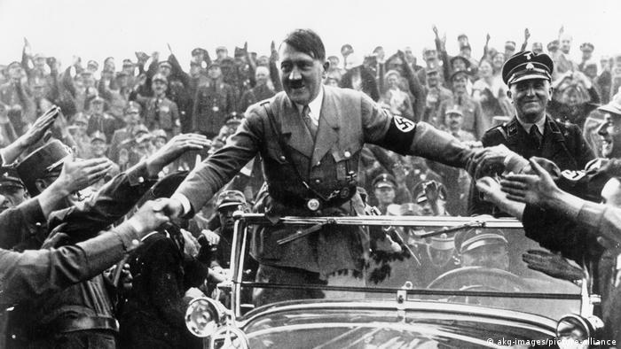 Hitler em Nurembergue em 1933