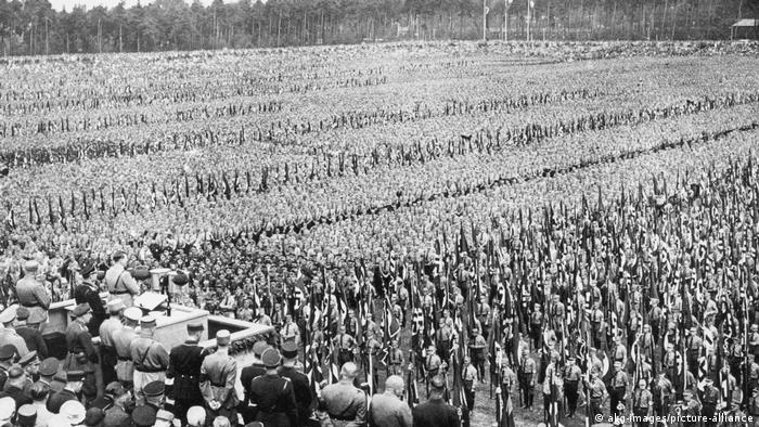 Deutschland Hitler l Reichsparteitag 1933, Appell in Nürnberg