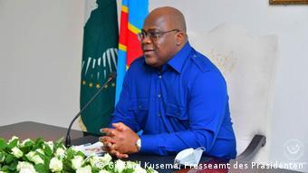 DR Kongo | Besuch Präsident Félix Tshisekedi