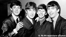 Sir Paul McCartney comments. File photo dated 01/06/1963 of The Beatles pop group, left to right, Paul McCartney, John Lennon, Ringo Starr and George Harrison. Sir Paul McCartney has described his post-Beatles feud with John Lennon as pretty hurtful, but denied that the band ever hated each other. Issue date: Tuesday August 4, 2020. The Beatles split in 1970, after a decade of recording pop classics and touring the world, prompted by Sir Paul filing for the dissolution of their contractual partnership. See PA story SHOWBIZ McCartney. Photo credit should read: PA/PA Wire URN:54859031 |