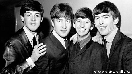 De izquierda a derecha, Paul McCartney, John Lennon, Ringo Starr y George Harrison.