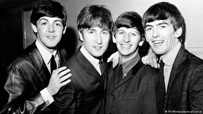 BG 80. Geburtstags von John Lennon l Bandfoto - The Beatles