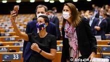 Belgien Brüssel |Meryame Kitir, Ministerin für Entwicklungszusammenarbeit