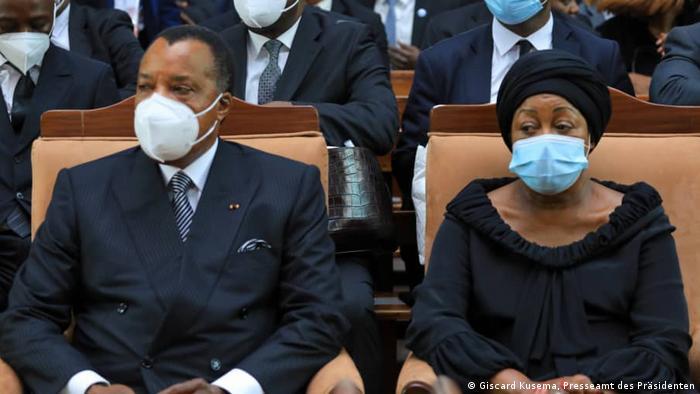 Les femmes en RDC ne sont pas seulement des épouses de... (ici: le président Tshisekedi et son épouse)