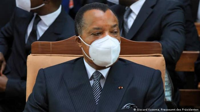 President of the Congo Kinshasa Congo-Pressa Denis Sassou-Nukuzo