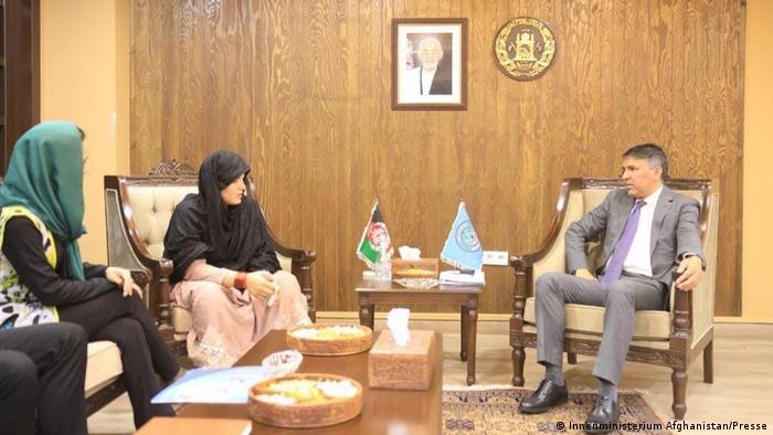Afghanistan | Polizistin Khatra, Innneministerium (Innenministerium Afghanistan/Presse)