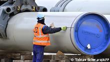Deutschland Lubmin Nord Stream 2 Anlage