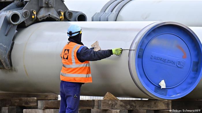 Труба для газопровода Северный поток - 2